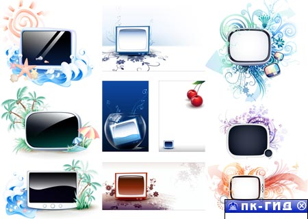 TV Summer vector