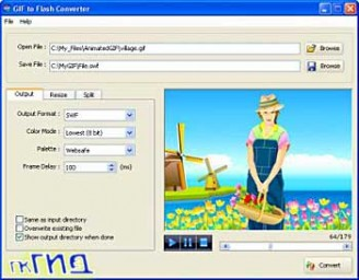 GIF to Flash Converter 1.5