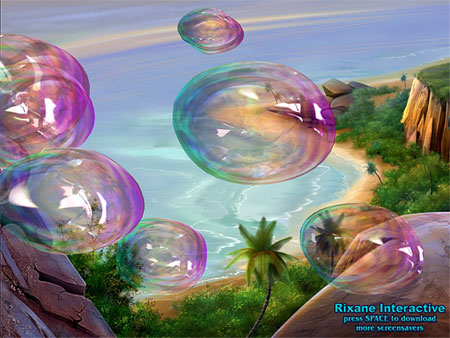Altavir Bubbles 3D Screensaver
