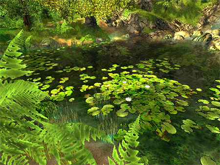 Nature 3D Screensaver