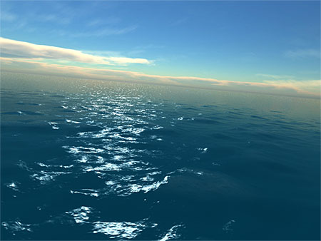 Fantastic Ocean 3D screensaver