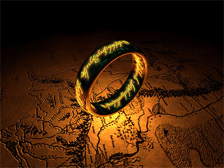 Open The One Ring 3D Screensaver