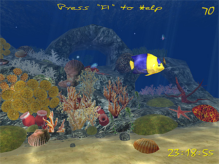 3D Aquatic Life Screensaver Fish
