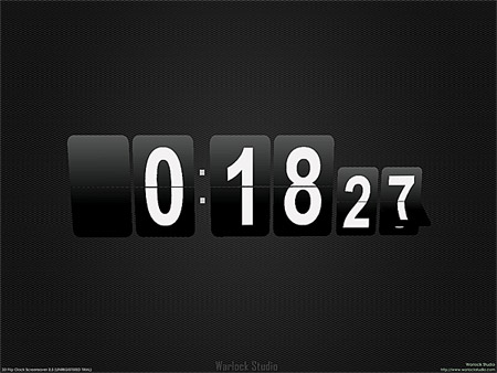 Flip Clock 3D Screensaver