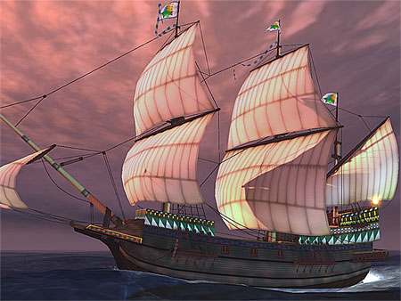 Galleon 3D Screensaver