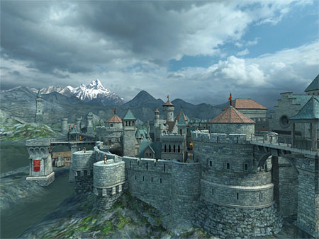 Medieval Castle 3D Screensaver