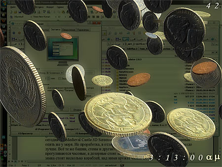 Desktop Money 3D Screensaver