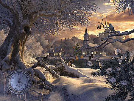 Winter Wonderland 3D Screensaver