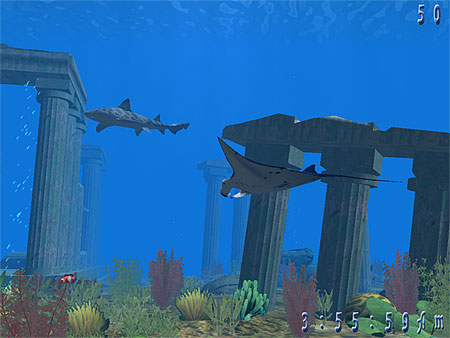 Underwater World 3D Screensaver