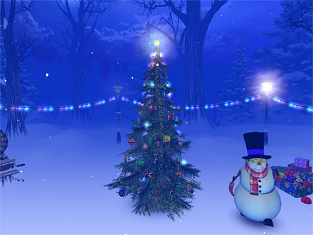 Christmas 3D Screensaver