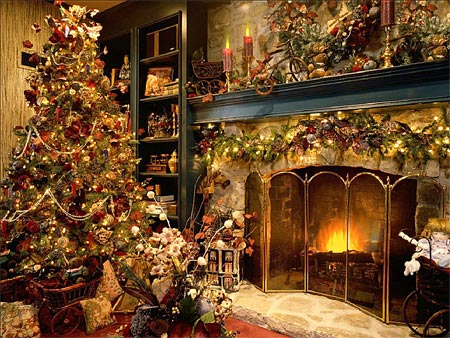 Xmass Fireplace